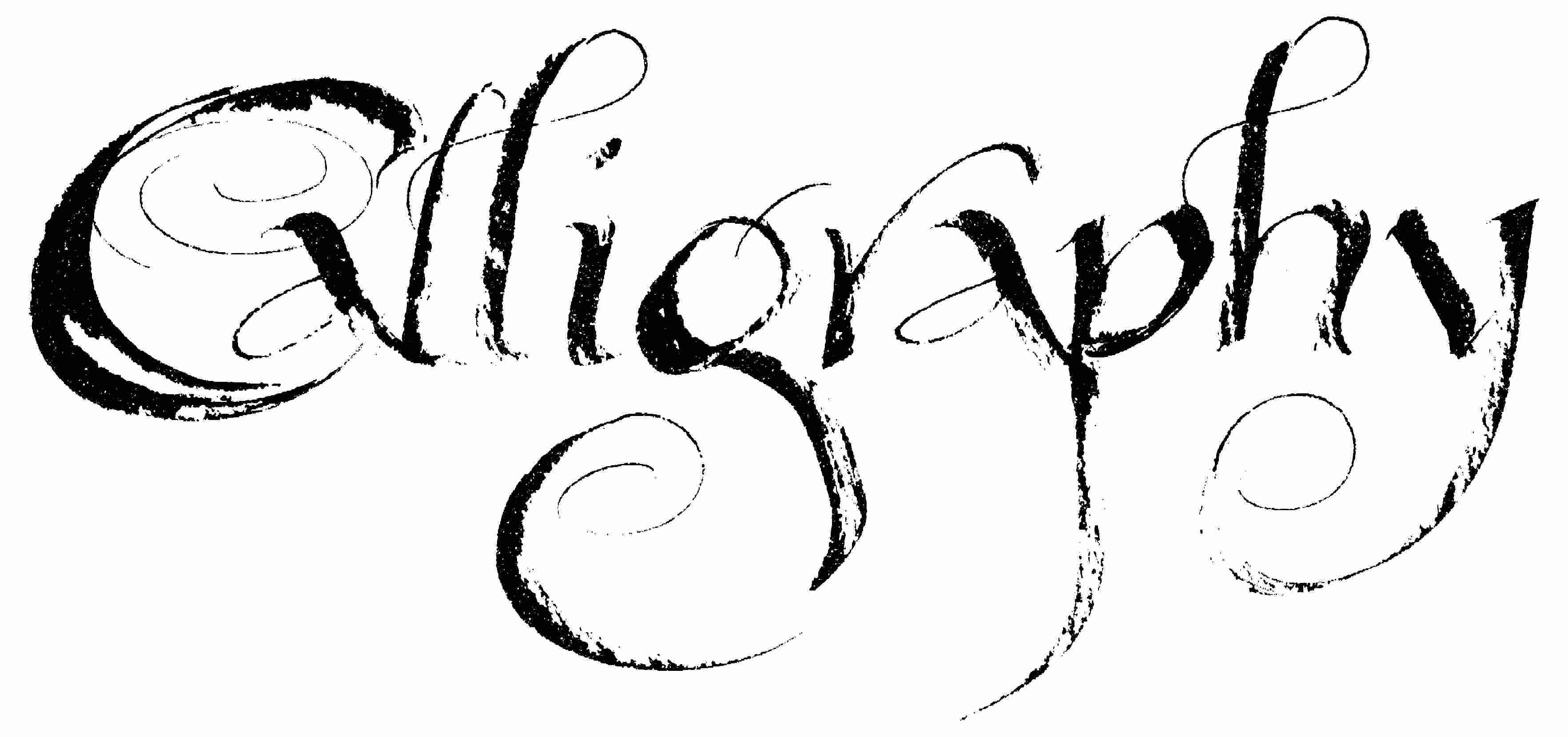 Kaligrafija - umetnost lepog pisanja Calligraphy