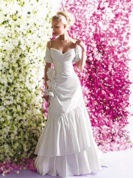 فساتين الزفاف بالالوان ولا اروع 10_0