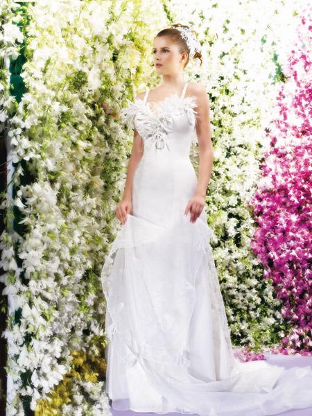 فساتين الزفاف بالالوان ولا اروع 36_0
