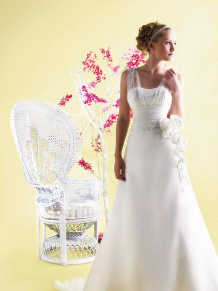 فساتين الزفاف بالالوان ولا اروع 8_0
