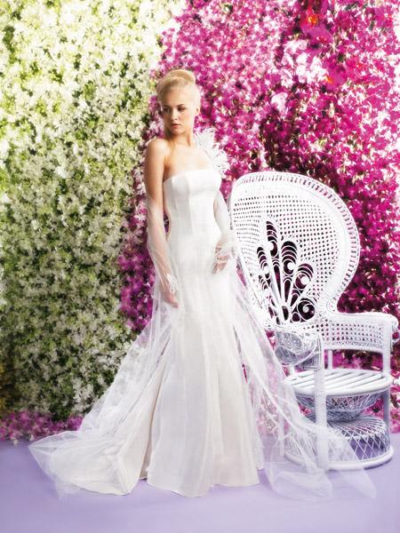 فساتين الزفاف بالالوان ولا اروع 9_0