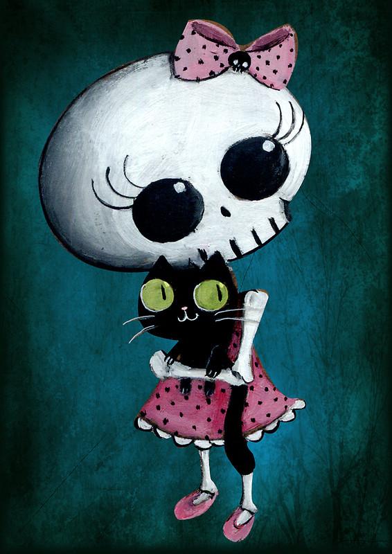 Usuarios como personajes animados Little-miss-Death-by-Monika-Suska