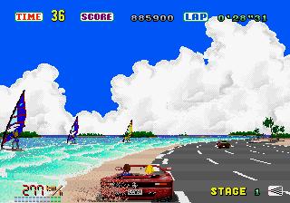 لعبة سباق السيارات الغنيه عن التعريف باصدار جديدOutRun 3D الجيل الثالث الصيغة جافا Outrun-02