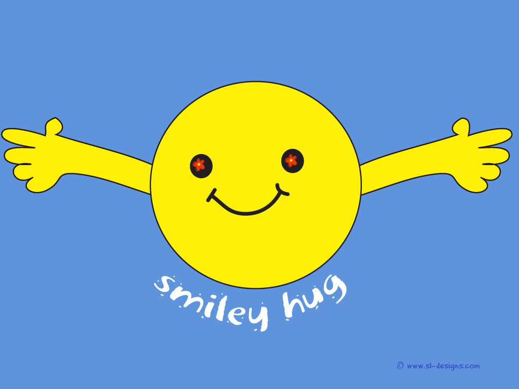 L'Horloge Parlante - Page 2 Smiley-hug2_sl-designs