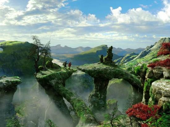 Le Monde Fantastique d'Oz [Disney - 2013] - Page 4 Oz-Great-and-Powerful-bridge-550x412