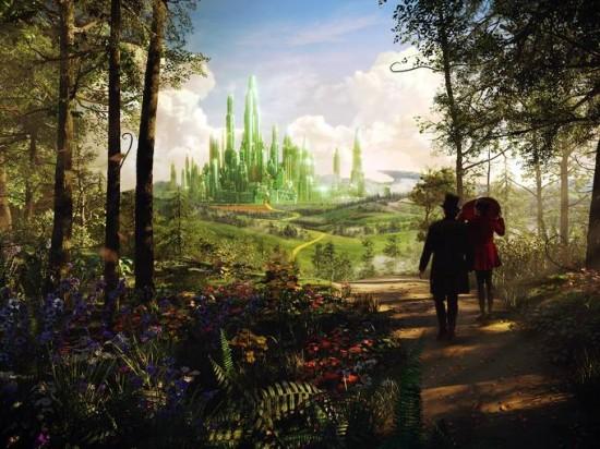 Le Monde Fantastique d'Oz [Disney - 2013] - Page 4 Oz-Great-and-Powerful-emerald-550x412