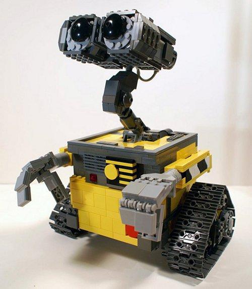 LEGO figurice,makete, kockice Wall-e-lego