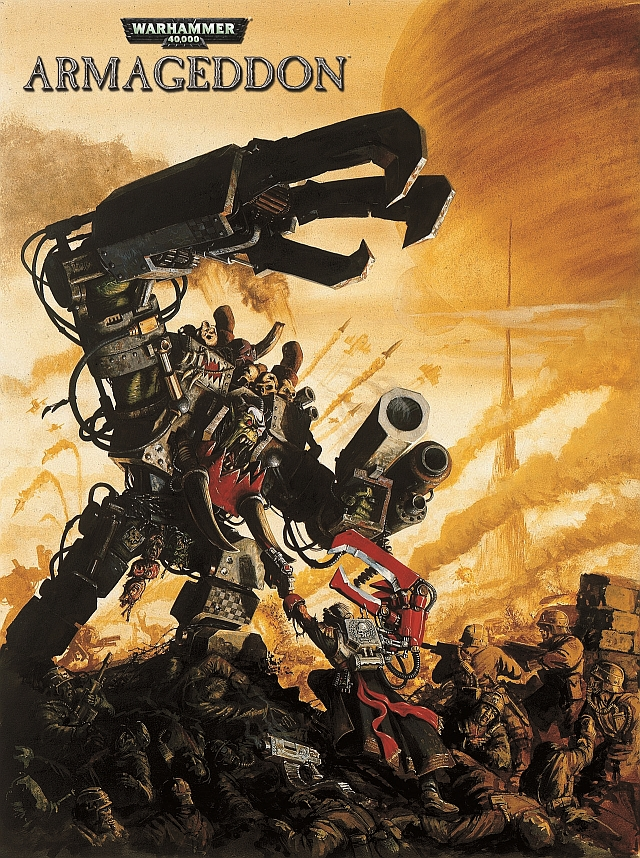 Armageddon SLIT_W40KA_Game_Art_OrkWarlord_wLogo