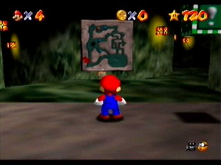 Super Mario 64 - Nivel favorito Course6