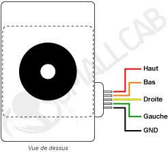 STICK ARCADE - SUPERGUN VS CPS2 - Page 2 Schema-joystick-5-points