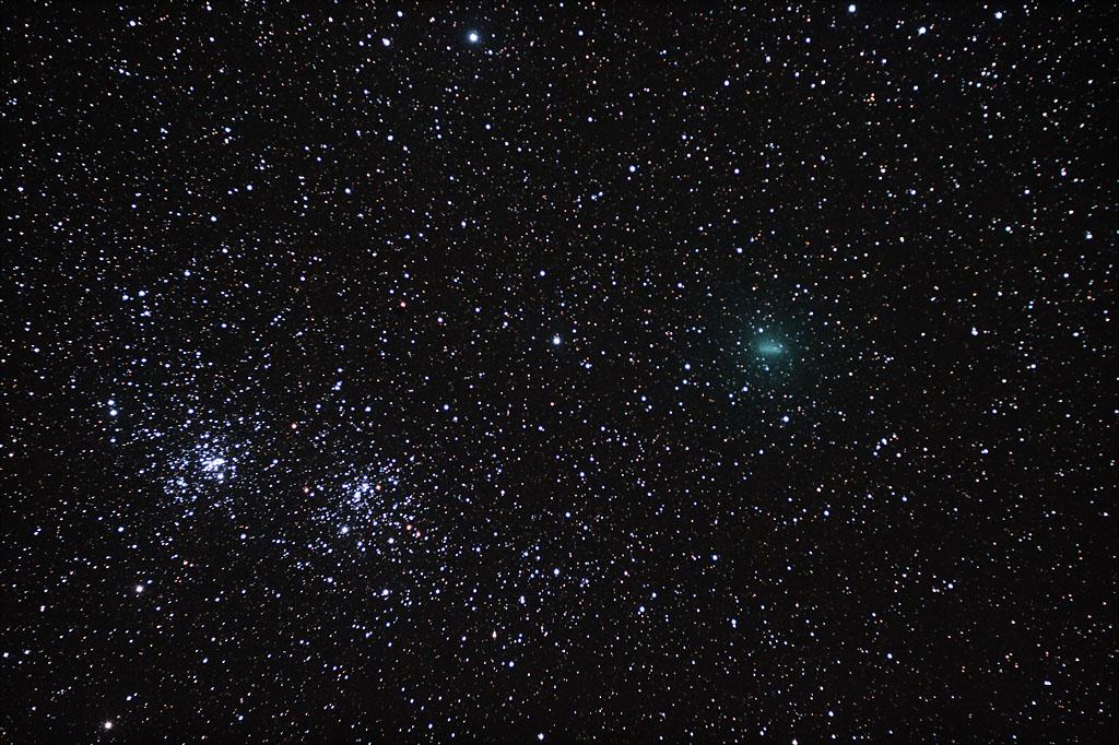 Un mois d'Octobre au clair de la voie lactée - Camping sidéral Comete_flavion_9octobre2010