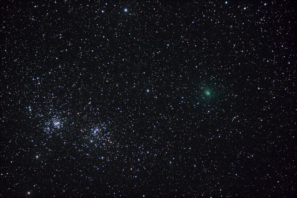 Un mois d'Octobre au clair de la voie lactée - Camping sidéral Comete_flavion_9octobre2010v2-t2