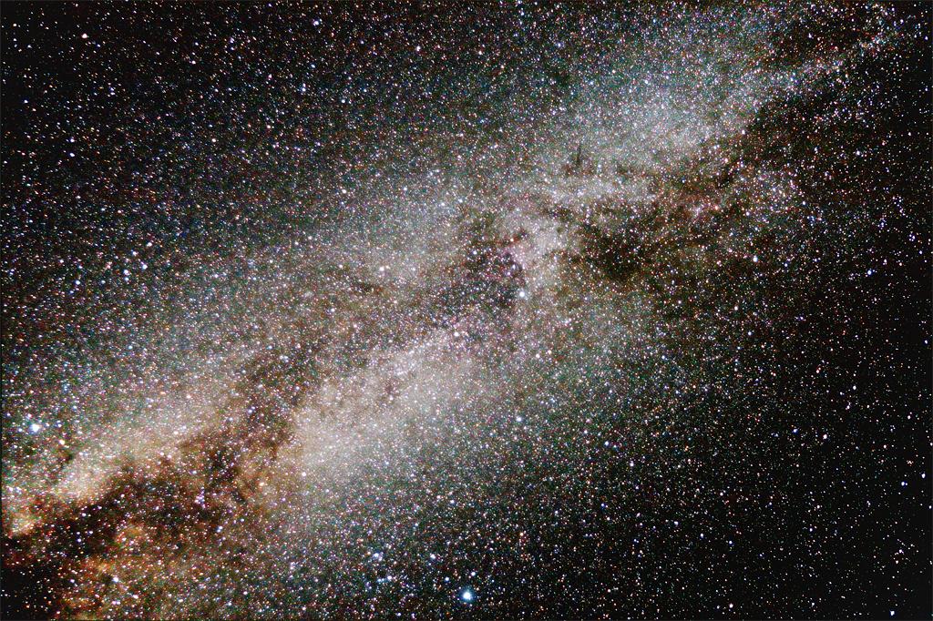 La Voie Lactée au 17mm Mongolie-Voie-Lactee