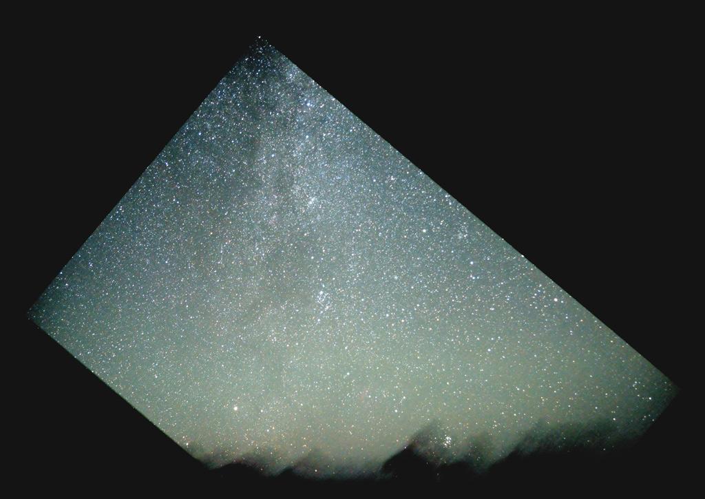 La Voie Lactée au 17mm Mongolie-pleiades
