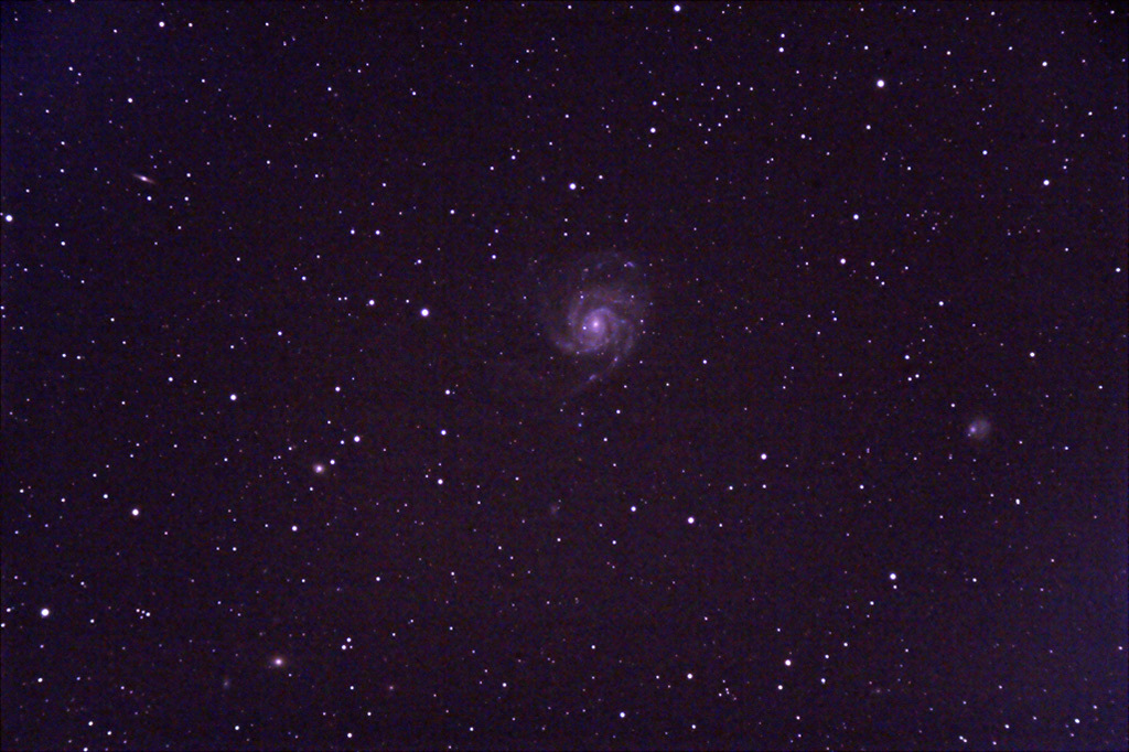 M101 - Pinwheel Galaxy - 23 dec  2008 M101-80ed-23dec2008