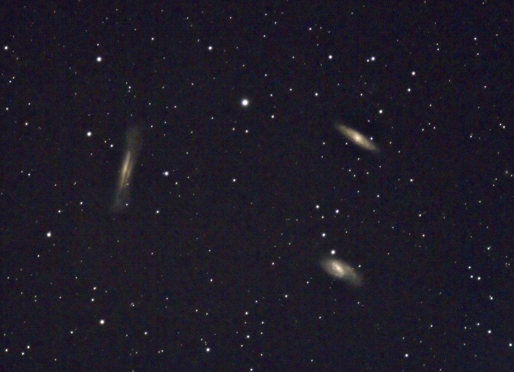 M65 - M66: Leo Triplet - 26 Dec 2008 - Italie (Celado) 1200m Leo-Triplets