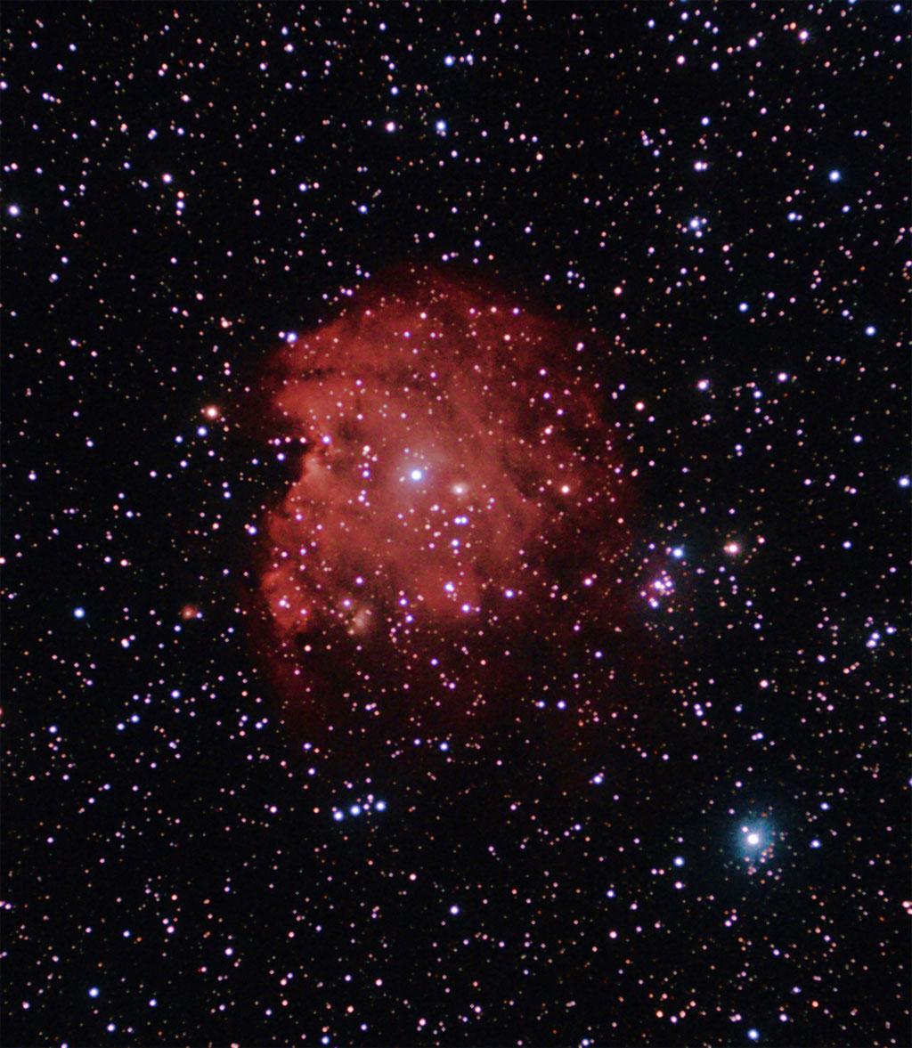 NGC2174 - La tête de Singe  NGC2174-04-03-2011-tete_de_singe