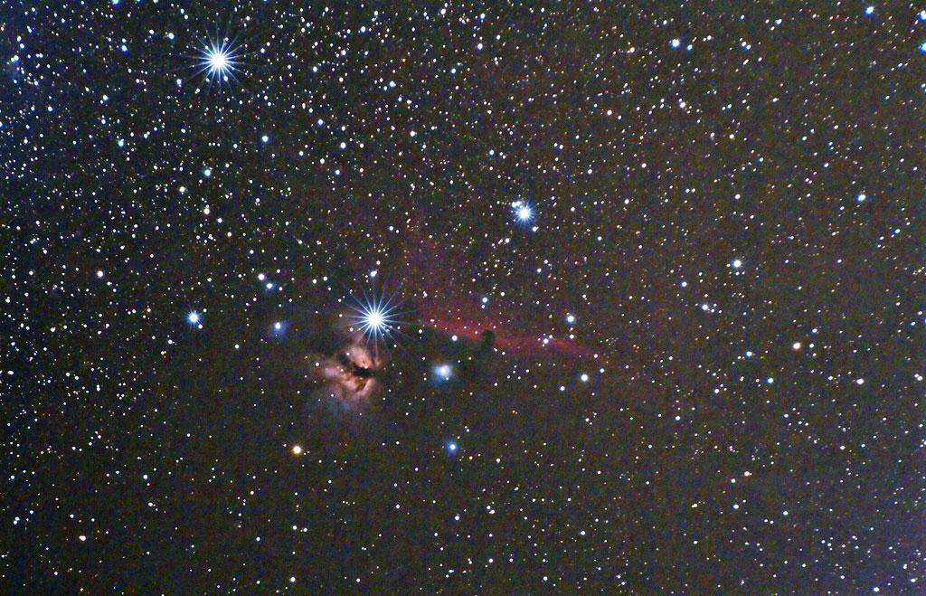 The HorseHead Nebula - 29 dec 2008 - Italy Tete-de-Cheval-Grand-Champ-300mm-29dec2008