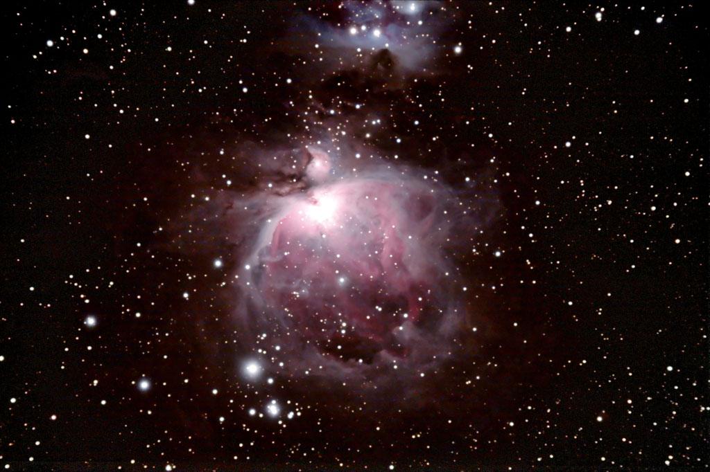 Dec 2008 - Une peu de ciel profond  à la 80ed - Italie M42-20dec08