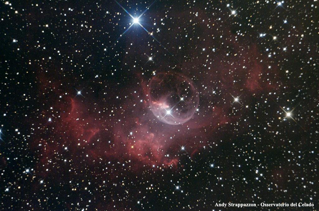 Osservatorio del Celado : nouvelle serie Ngc7635_label