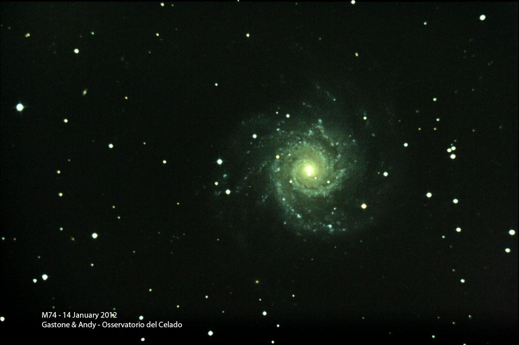 Observatoire du Celado - Remote sur M74 M74-14Gen2012
