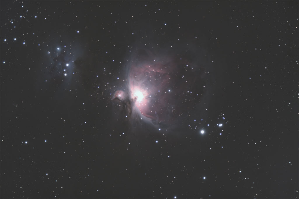 M42: The Big Orion Nebula - 26 Dec 2008 - Italie (Celado) 1200m Brut-M42