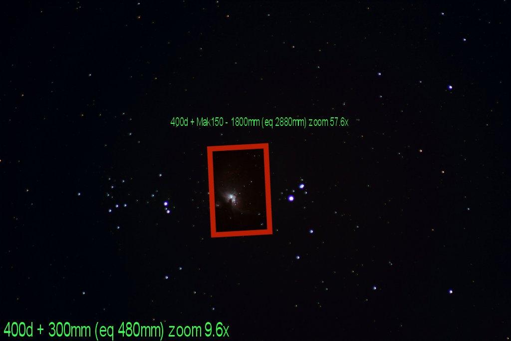 Caméra CCD DFK  de Imaging Source Orion_Champ_reel_couvert_400d