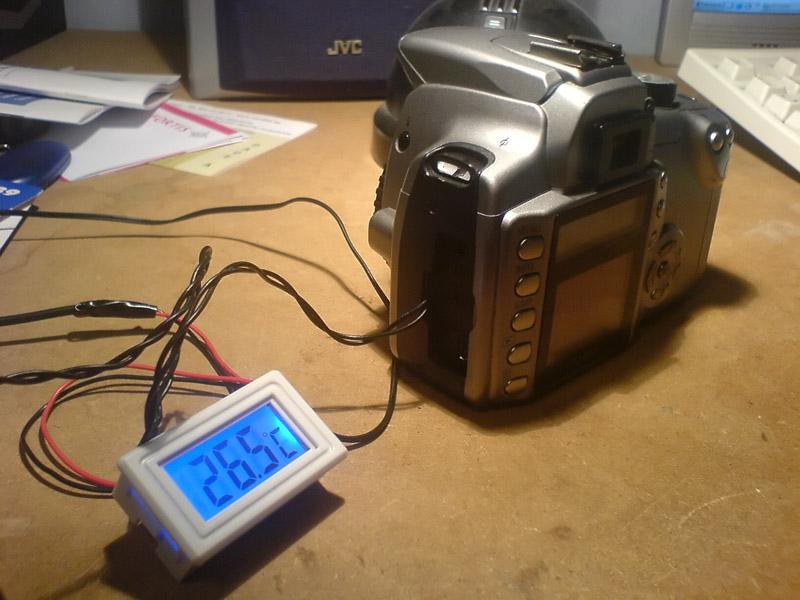 Défiltrage APN pour astrophoto Temperature350Dmontage