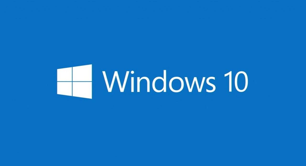 Microsoft Windows 10 Pro  Windows-10-logo-1280x697