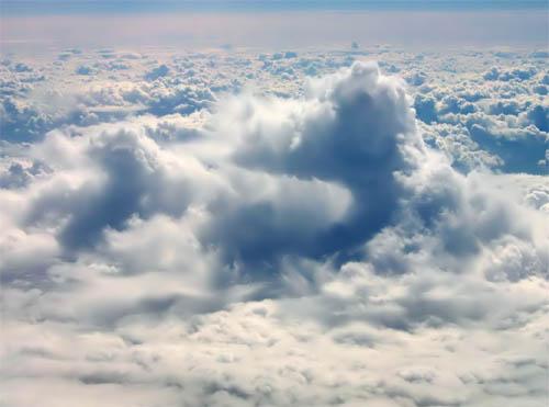 Slike koje izgledaju fotoshopirane- A NISU! Clouds