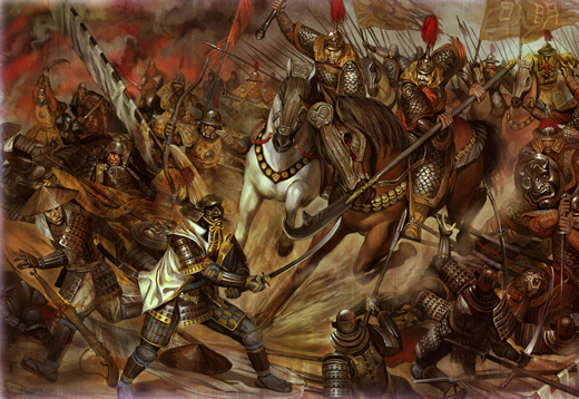 Random Stuff... - Page 22 45-Superb-Examples-of-Warrior-and-Battle-Art