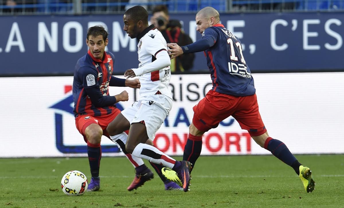 [29e journée de L1] OGC Nice 2-2 SM Caen Bessat_ricardo_3