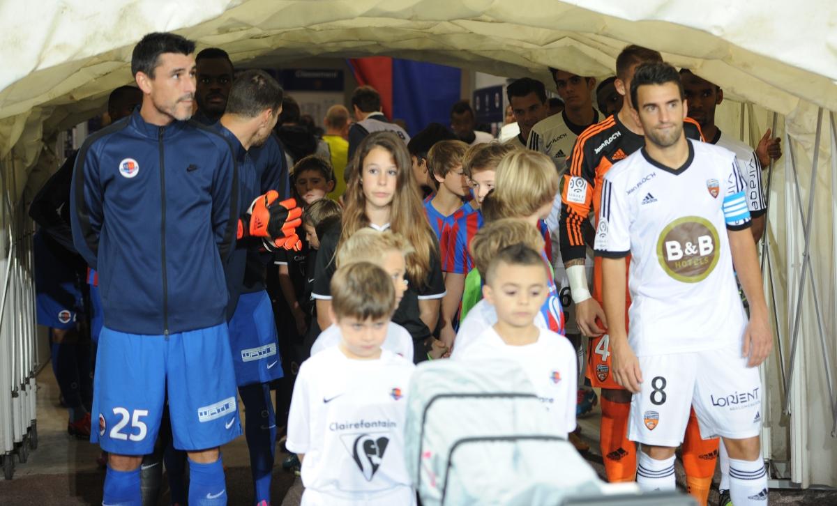 [29e journée de L1] FC Lorient 2-1 SM Caen Capitaines_concentres