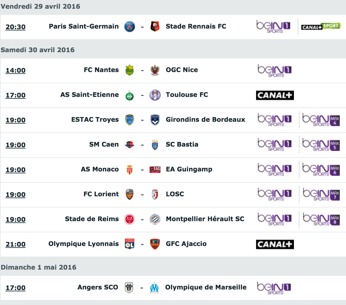 [36e journée de L1] SM Caen 0-0 SC Bastia Capture_decran_2016-04-27_a_16.15.48
