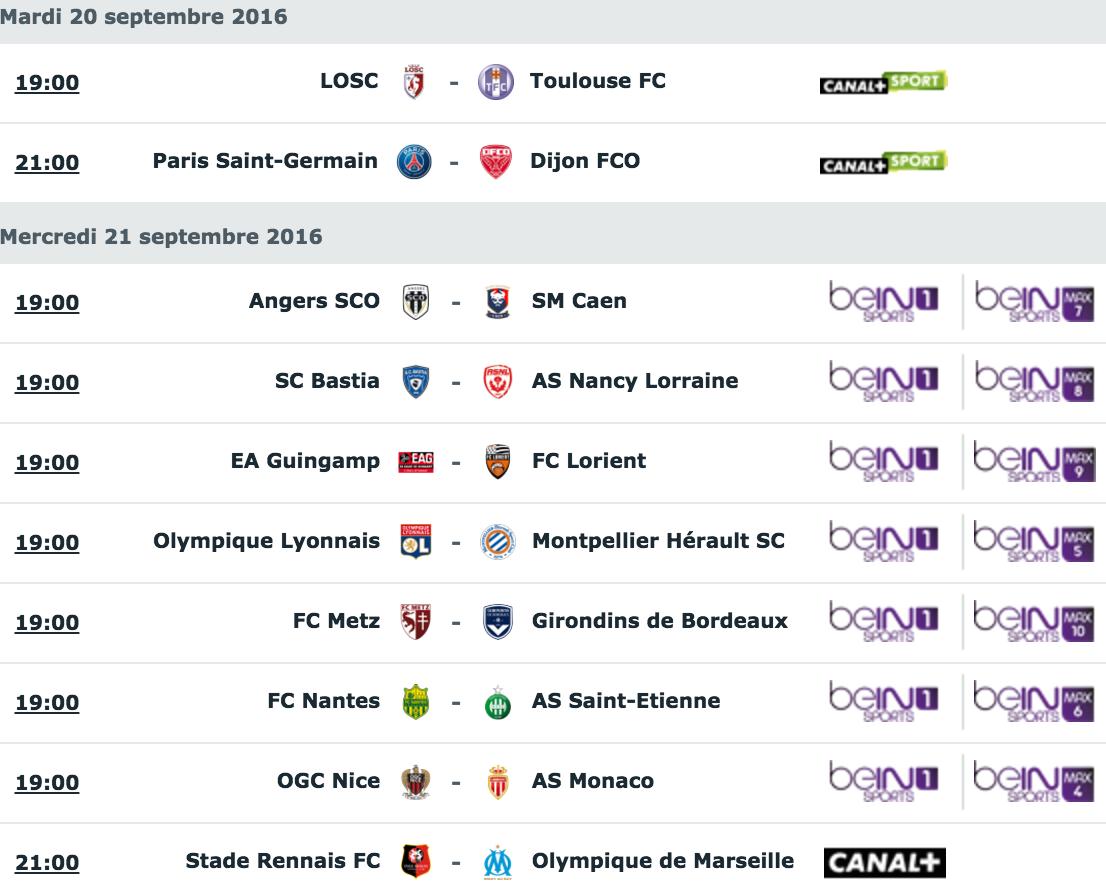 [6e journée de L1] Angers SCO 2-1 SM Caen  Capture_decran_2016-09-19_a_12.13.36