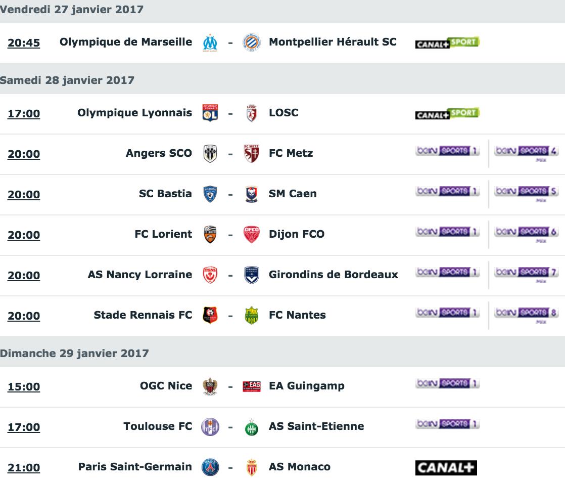 [22e journée de L1] SC Bastia 1-1 SM Caen  Capture_decran_2017-01-24_a_12.19.16
