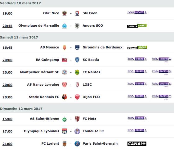 [29e journée de L1] OGC Nice 2-2 SM Caen Capture_decran_2017-03-07_a_15.44.08