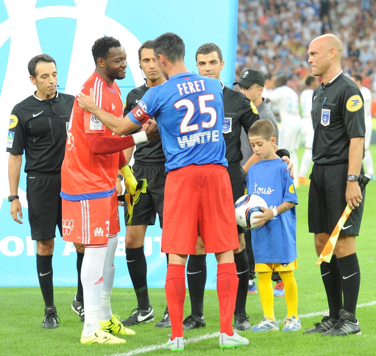 [1e journée de L1] SM Caen 3-2 FC Lorient Feret_mandanda_0