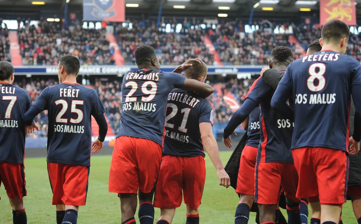 [30e journée de L1] SCO Angers 3-0 SM Caen  Joie_caen_2_1