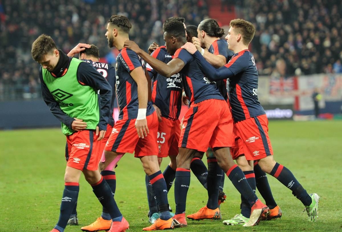 [28e journée de L1] SM Caen 2-0 RC Strasbourg Joie_caen_5_7
