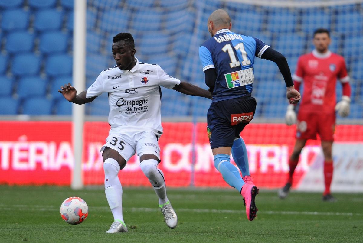 [13e journée de L1] SM Caen 2-1 EA Guingamp Karamoh_gamboa