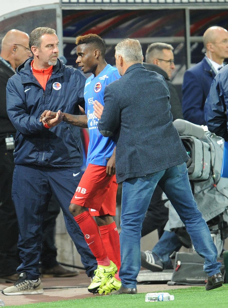 [8e journée de L1] SM Caen 2-0 GFC Ajaccio - Page 2 Leborgne_satisfait