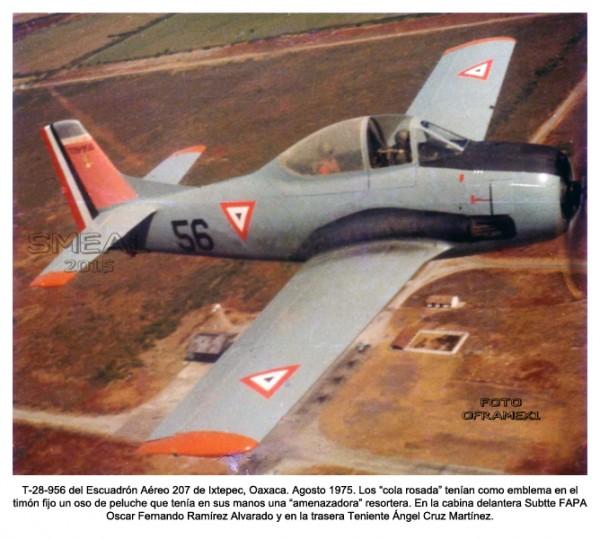 T-28 A Escuadrón Aéreo de Pelea 205.  248