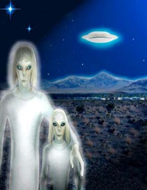 The Tall White Extraterrestrials  1363449600000