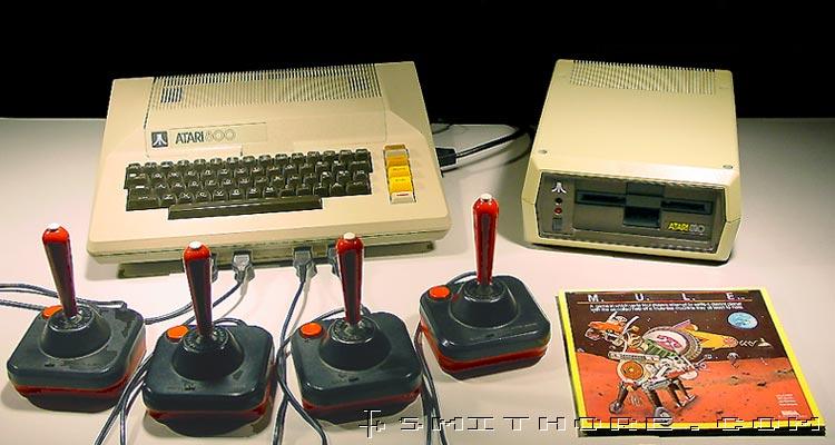 computador - Conheça o computador Atari 800 o primeiro computador da empresa fazendo 30 anos. Atari-mule