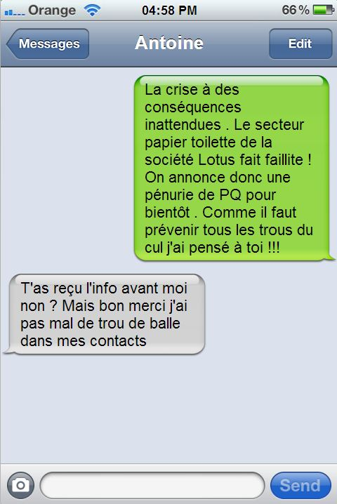 SMS d'Amour  !!! Humoursms