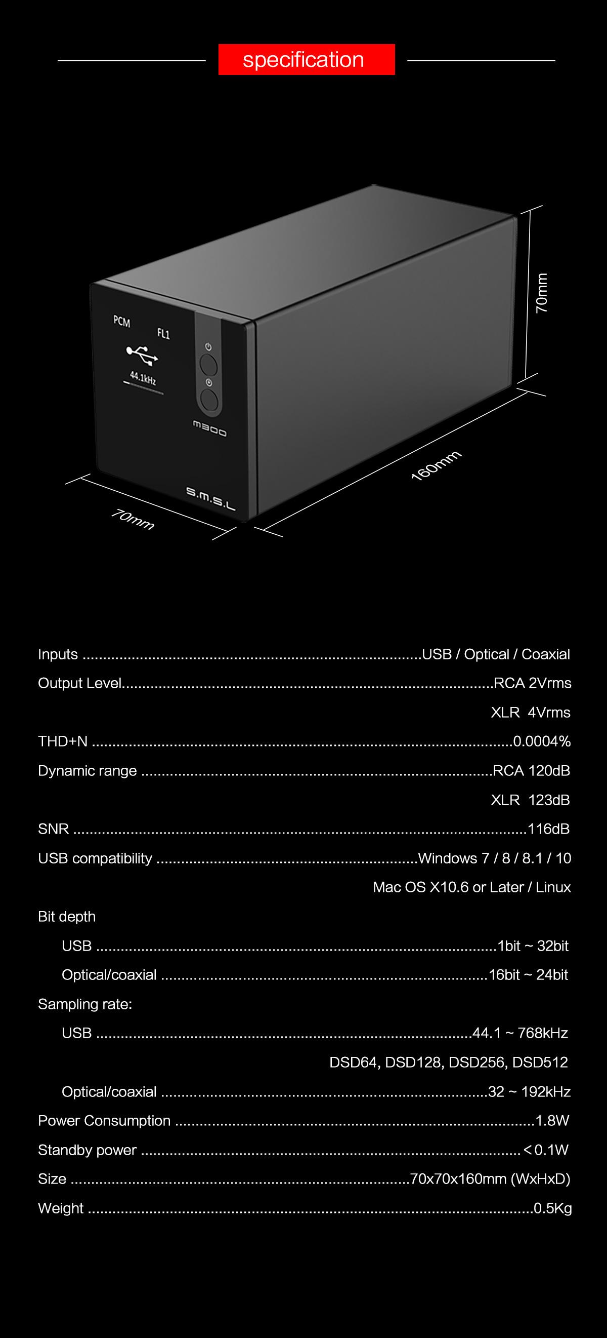 Nuovo SMSL M300 (AK4497 bilanciato) 20190311155183878387