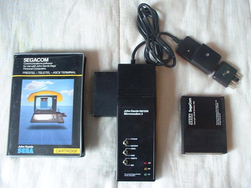 Sega c'est plus fort que moi: Deux GRAAL arrivés le même jour... Sc3000-modem-01