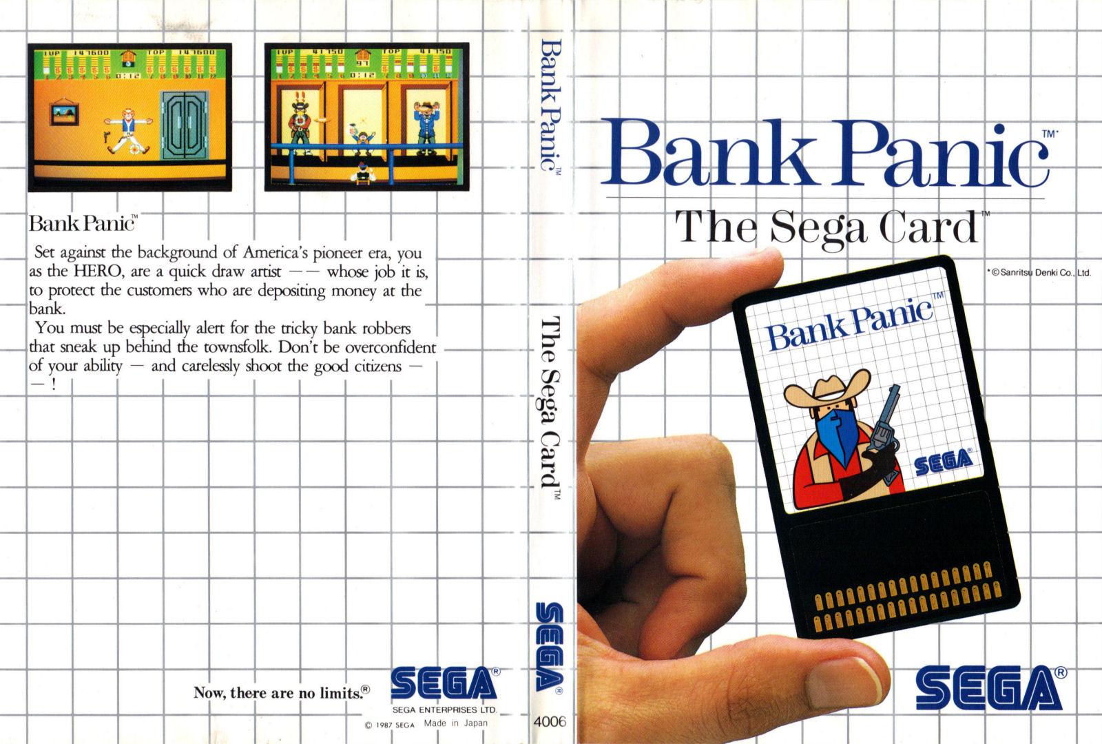 [Master System] Les Sega Card Pal BankPanic-SMS-IT
