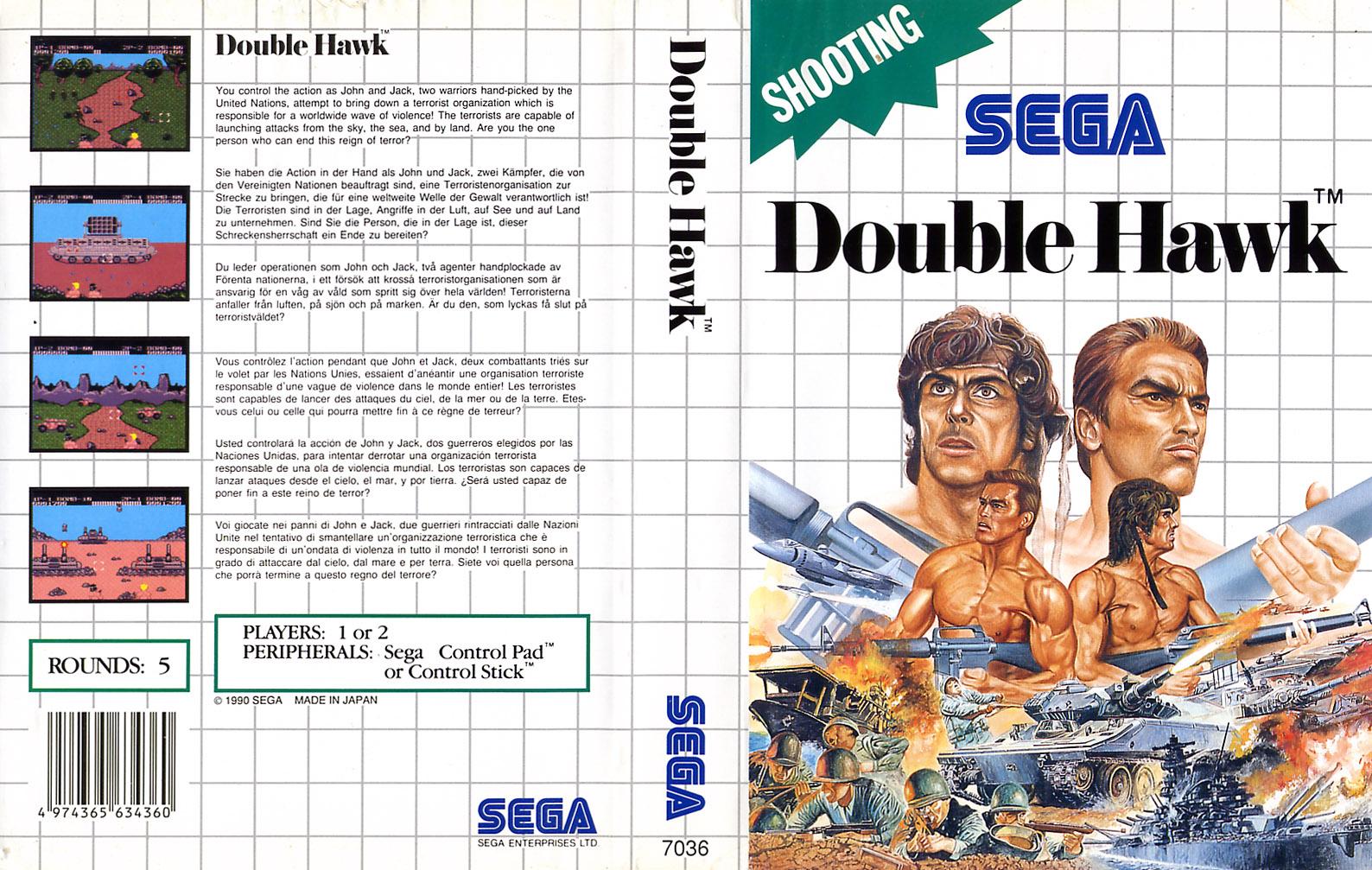 A la recherche d'un jeu DoubleHawk-SMS-EU-NoR